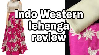 Download खरीदे क्रॉप टॉप लहंगा मात्र ₹400 में/Amazon shopping in budget/Amazon lehenga review Video