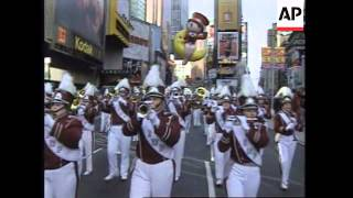 Download USA: NEW YORK: 70TH ANNUAL MACY'S THANKSGIVING DAY PARADE Video