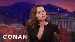 Download Minnie Driver Plays Her Mouth-Trumpet - CONAN on TBS Video