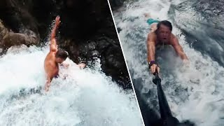 Download YouTubers Who Died in Waterfall Plunge Were Inspired by 'Jackass' Movie Video