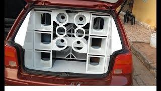 Download 4 Vulcano 3.8 de 15 no Golf - Fabricação de caixas - Deboxe Sound Car Video