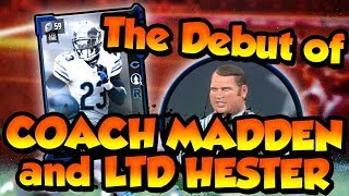 Download Madden 18 Ultimate Team :: The DEBUT Of Coach Madden And LTD Hester! :: Madden 18 Ultimate Team Video