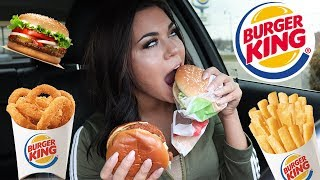 Download TRYING BURGER KINGS NEW SPICY CHICKEN SANDWICH + MUKBANG Video