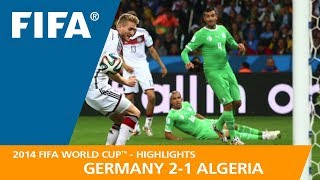 Download GERMANY v ALGERIA (2:1) - 2014 FIFA World Cup™ Video