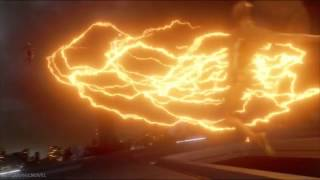 Download Giant Superhero Fight - The Flash and Arrow VS Supergirl, Legends of Tomorrow, Speedy Video