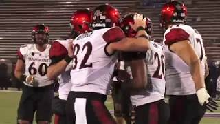 Download SDSU FOOTBALL: #22 AZTECS 28, AIR FORCE 24 - 9/23/17 Video