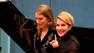 "Download Joyce DiDonato Master Class 2015: Rossini's ""Nacqui all'affanno"" from La Cenerentola Video"