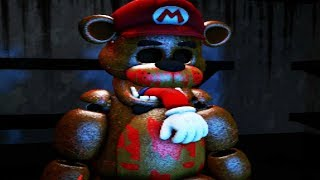 Download MARIO GETS STUFFED INTO AN ANIMATRONIC SUIT!   Mario in Animatronic Horror (Five Nights at Freddys) Video