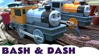 Download BASH & DASH Trackmaster Toy Thomas The Tank Train Set Misty Island Engines Spotlight Series Video