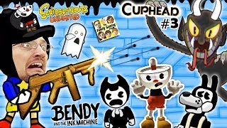 Download BENDY & THE INK MACHINE + SCRIBBLENAUTS UNLIMITED + CUPHEAD! FGTEEV Cheats & Beat Entire Game FAST!! Video