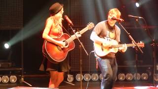 Download Ed Sheeran and surprise guest Taylor Swift ″Everything Has Changed″ at MSG 11/1- HQ Video