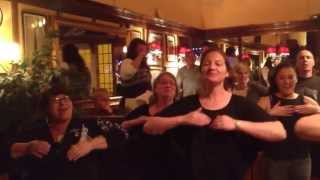 Download Watch this!! In a pub in Sherbourne Maori wedding guests do a impromptu Haka Video
