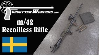 Download Carl Gustav m/42: A 20mm Recoilless Antitank Rifle Video