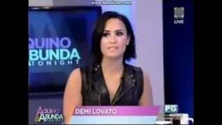 Download Demi Lovato in Aquino & Abunda Tonight. 04/29/15. Full Interview Video