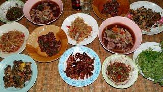 Download ก้อยกวาง จุ๊กวาง ก้อยหอย ส้มตำ ปิ้งไก่ ต้มหอย กินข้าววันกับข้าวเยอะเกิน Video