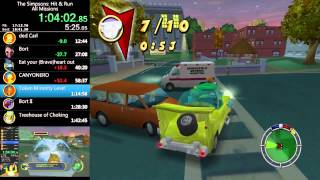 Download The Simpsons: Hit & Run - All Missions Speed Run - 1:42:03 Video