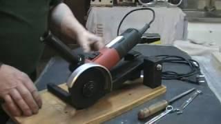 Download Bricolage : Modification d'une meuleuse d'angle, facile à réaliser en bois de récup ….. Kastepat Video