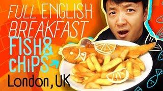 Download FULL ENGLISH BREAKFAST   Fish & Chips & SUNDAY ROAST in London Video