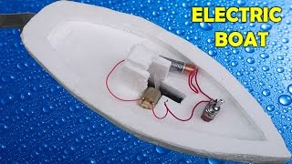 Download How to Make an Electric Boat at Home Video