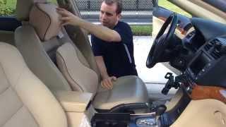 Download Premium Memory Foam Car Lumbar and Neck Pillow Kit Review LoveHome Video