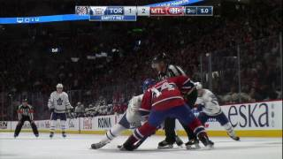 Download Gotta See It: Things get ugly as Canadiens & Maple Leafs trade brutal hits Video