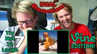 Download Try not to laugh 7 (Vine Edition) DUAL REACTION! | BROS' BREAKDOWN! | Video