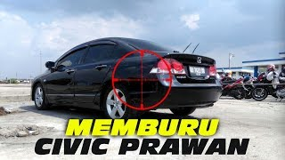 Download MEMBURU MOBIL IMPIAN: CIVIC FD/GEN8 M/T 2009 Video