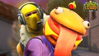 Download RAPTOR TRIES TO EAT DURR BURGER! *NEW SKIN* Fortnite Short Film Video