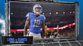 Download Detroit Lions vs. New York Giants - Lions Football Preview Show Video