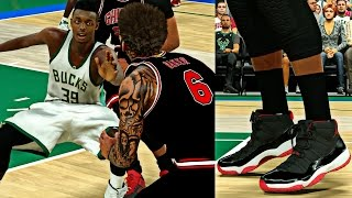 Download FIRE NEW BRED 11 RETRO GOT CAM BREAKING ANKLES LIKE CRAZY! TRIPLE DOUBLE KING - NBA 2K17 MyCAREER S2 Video