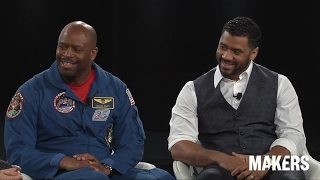 Download Russell Wilson & Leland Melvin at the 2017 MAKERS Conference, 2/08/2017 Video