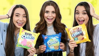 Download OREO CHALLENGE PART TWO! w/ the Merrell Twins! Video