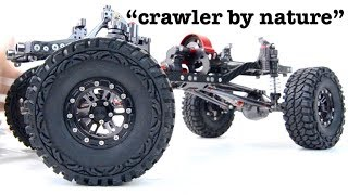 Download The chassis you need 1/10! ″...a crawler by nature″ Unboxing and Test Video