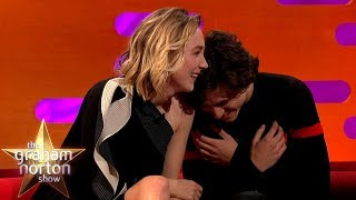 Download Timothée Chalamet Can't Handle Saoirse Ronan's Shrek Impression | The Graham Norton Show Video