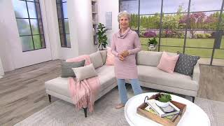 Download Studio by Denim & Co. Heathered Turtleneck Long Sleeve Sweater on QVC Video