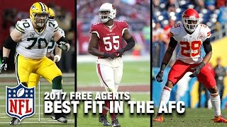 Download Every AFC Team's Best Free Agent Fit | NFL NOW Video