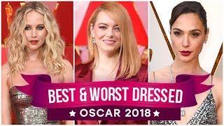 Download Jennifer Lawrence, Emma Stone, Meryl Streep : Best and Worst Dressed - Oscars 2018 | Pinkvilla Video