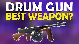 Download NEW META! DRUM GUN BEST AGGRESSIVE WEAPON | INSANE PUSHING LOADOUT | -(Fortnite Battle Royale) Video