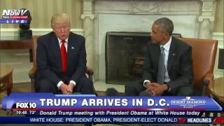Download MUST WATCH: Donald Trump Meets With President Obama at White House - FNN Video