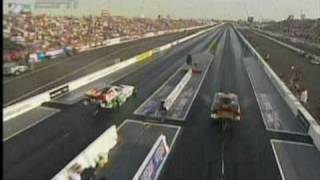 Download Wrong turn for John Force Phoenix Qualifying Dragracing 2009 Video