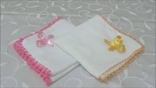 Download İğne Oyası ve Tığ İşi Bebek Mendili/Kendin Yap/ DIY Video