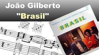 Download João Gilberto - ″Aquarela Do Brasil″ - Virtual Guitar Transcription by Gilles Rea Video