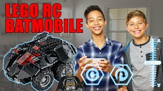 Download LEGO DC The App-Controlled Batmobile – The Build Zone Video