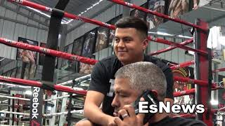 Download Mikey Garcia Shares Details From His Face To Face Meeting With Errol Spence EsNews Boxing Video