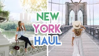 Download NEW YORK FASHION HAUL! | Amelia Liana Video