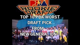 Download TOP 10 WORST PBA DRAFT PICK IN NEW GENERATION Video