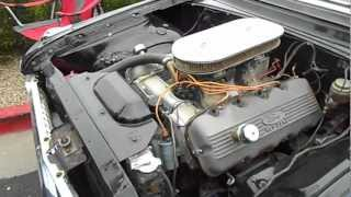 Download Start Up 1961 Ford Starliner 427 SOHC Cammer LOUD and MEAN Video