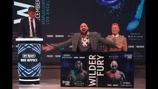 Download Full Deontay Wilder v Tyson Fury crazy London press conference | Warning: contains bad language Video