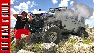 Download Jeep Wrangler Destroys Dynatrac Axle , Jeep Wrangler Extreme Off Road Video