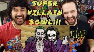Download SUPER-VILLAIN-BOWL! - TOON SANDWICH - REACTION!!! Video